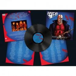 """Razor - """"Shotgun Justice"""" (LP)"""