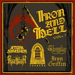 """V/A - """"Iron and Hell"""" (CD)"""