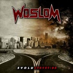 """Woslom - """"Evolustruction"""" (CD)"""